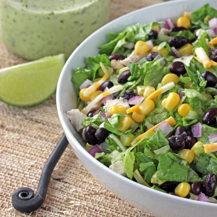 Southwest Chicken Chopped Salad