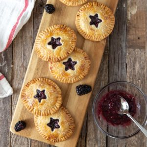 Fresh Blackberry Hand Pies