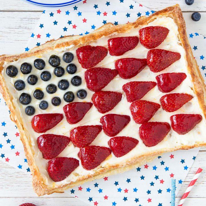 American Flag Tart