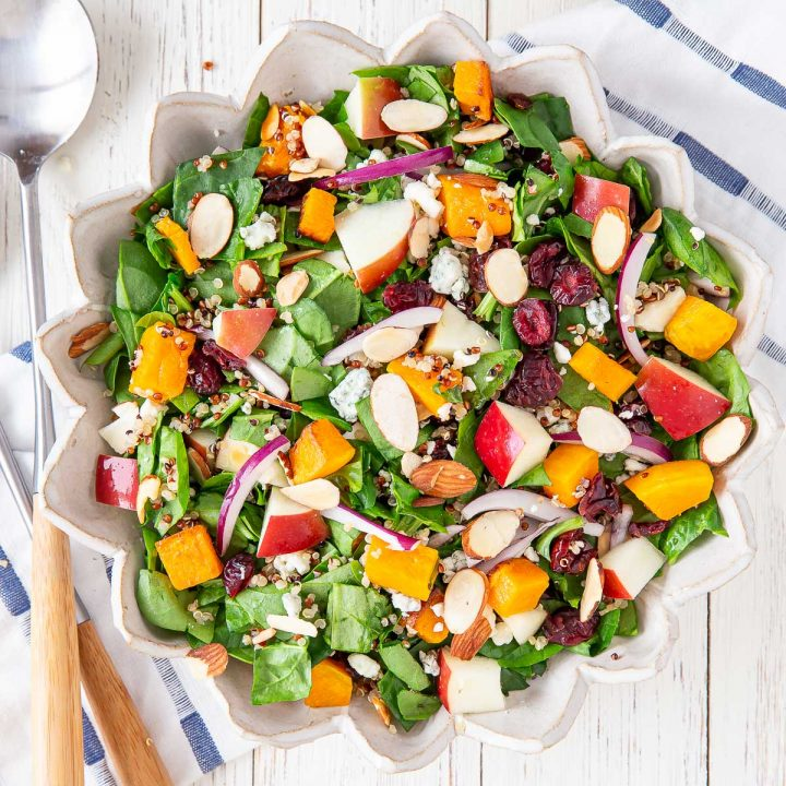 chopped salad in a bowl