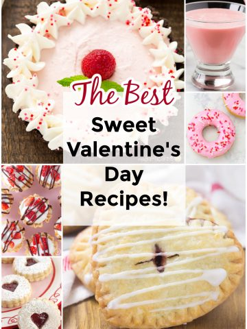 roundup of Valentine's Day sweet treats